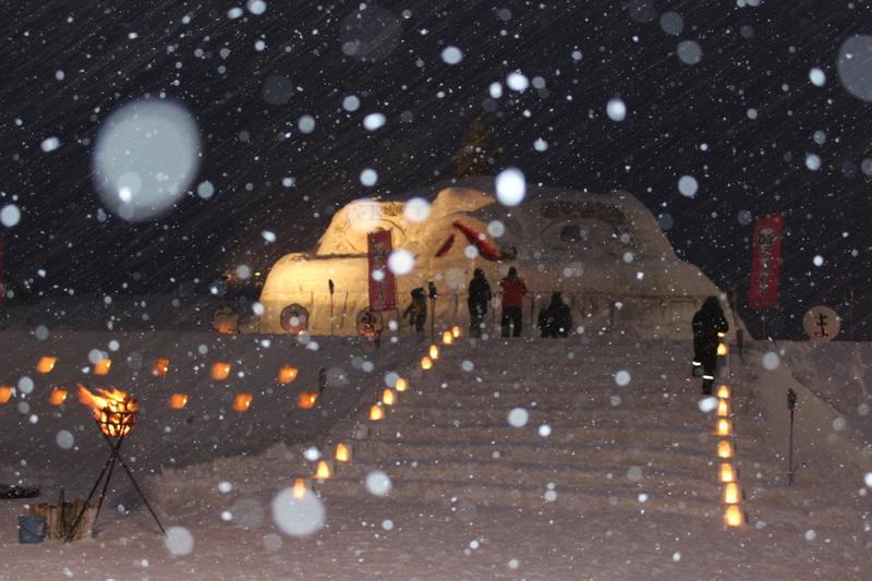 平成29年 笹子雪まつり画像